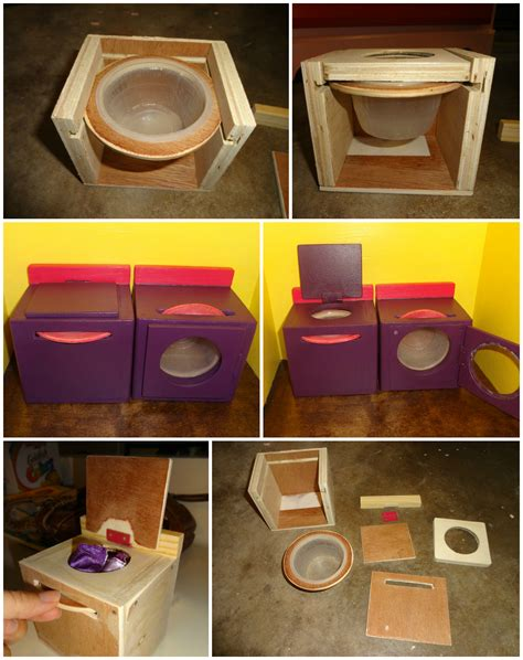 doll house clothes homemade barbie doll house spinning washer and dryer my