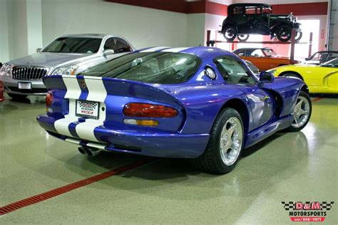 1996 dodge viper gts for sale 1996 dodge viper gts stock m5160 for sale near glen