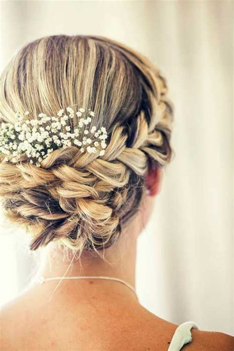 Wedding Updo Hairstyles With Braids by 25 Best Hair Updos 2015 2016 Hairstyles Haircuts