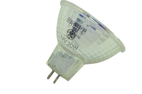 Ge Landscape Light Bulbs Qty 10 Ge 12v 20w Halogen Mr16 Landscape Light Bulb Bab Ph Made In Usa Ebay