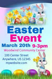 easter poster templates poster my walls easter templates