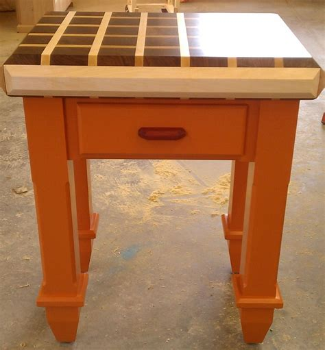 Handmade Butcher Block - handmade butcher block island by dissident lumber works
