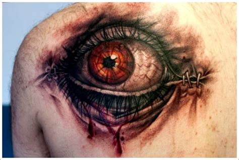 eye tattoo process 35 not so common eye tattoo designs