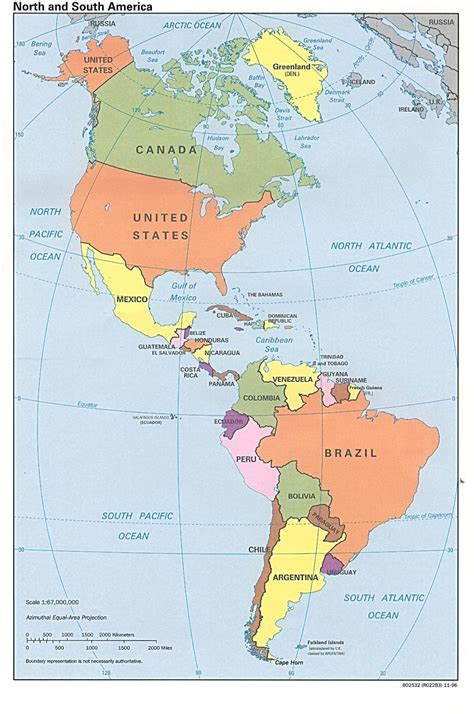 map usa and south america america map south america