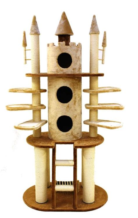 Cat Tree Big 10 Istana Kucing Cat Castle count catula s grand castle cat scratch post highly elaborate novel and yet functional