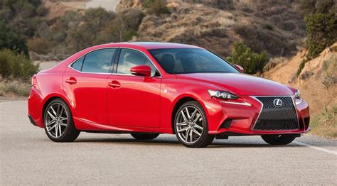 2016 lexus is gets new turbo four cylinder