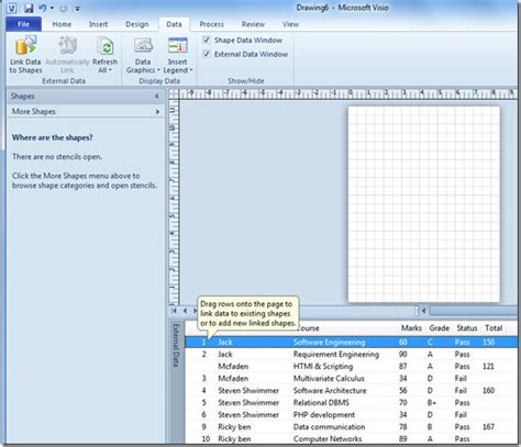 excel to visio create diagrams in ms visio 2010 by linking excel spreadsheet