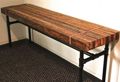 pipe bench 1000 ideas about industrial bench on pinterest pipe