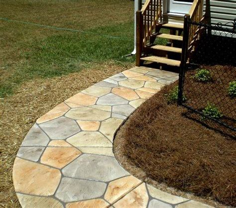 Design Ideas For Flagstone Walkways Beautiful Flagstone Walkways To Make Addition For Landscape Design Home Design Interiors