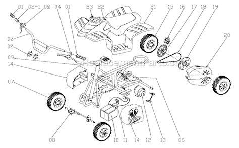 razor dirt quad parts list  diagram ereplacementpartscom