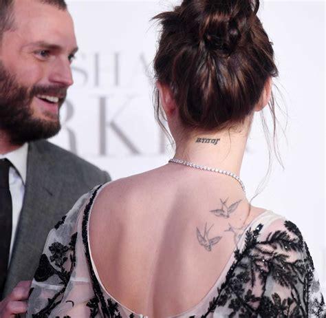 dakota johnson tattoos dakota johnson dakota johnson dakota