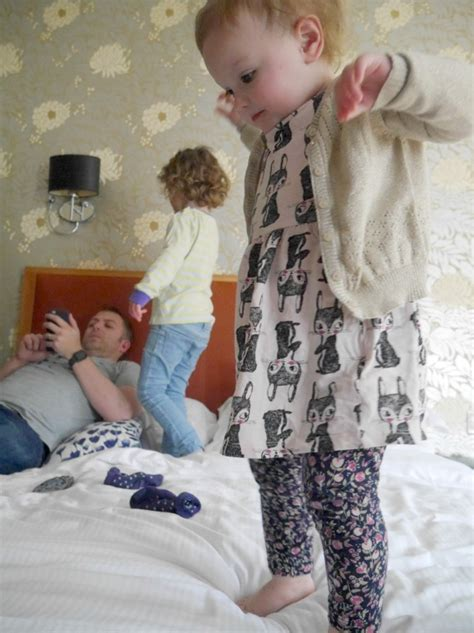 babies jumping on the bed a night at hawkwood house oxford a baby on board blog
