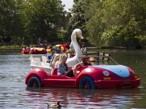 swan boats london london boat hire 12 spots to rent pedalos and rowing