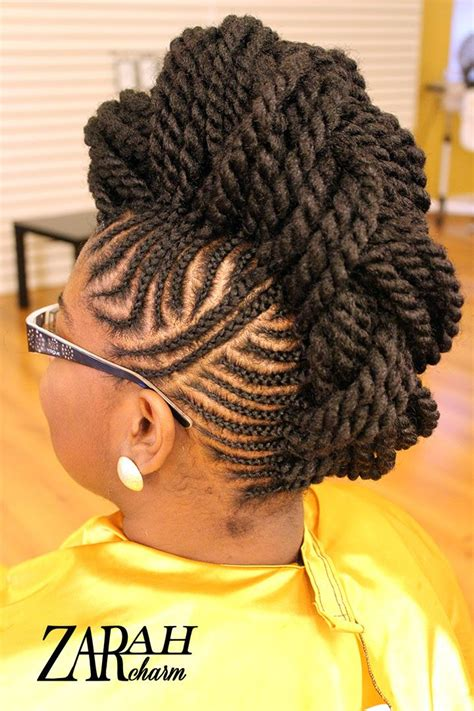 images of hair braiding in a mohalk 17 best ideas about cornrow mohawk on pinterest corn
