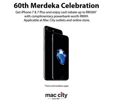 mac city merdeka promotion offers iphone 7 and iphone 7 plus from rm2 999 lowyat net