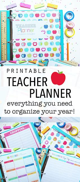 printable teacher planner etsy clean life and home the teacher planner