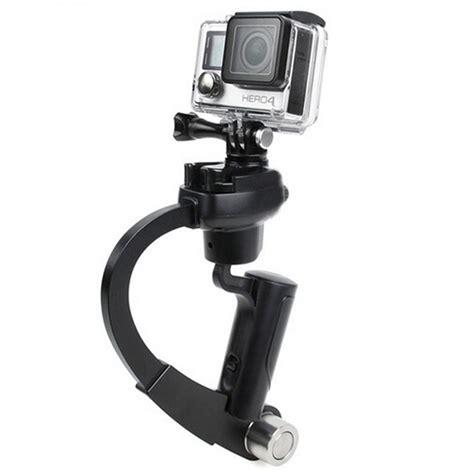 Handheld Stabilizer Kamera Dslr Kamera Gopro Xiaomi Yi plastic handheld curve stabilizer for gopro xiaomi yi xiaomi yi 2 4k black jakartanotebook