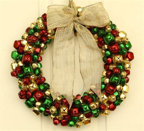 christmas jingle bells wreath xmasblor