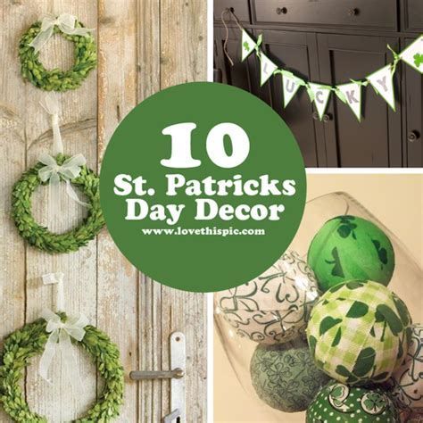10 st patricks day decor