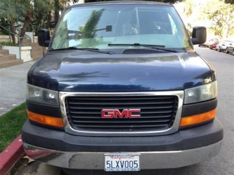 gmc savana 3500 passenger for sale buy used 2005 gmc savana 3500 sle extended passenger 3