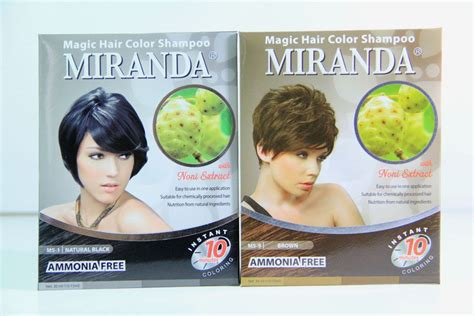 Miranda Magic Hair Color Shoo toko kosmetik dan bodyshop archive miranda