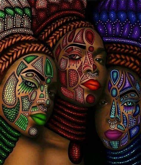 african women often present an artistry of the skin lmr
