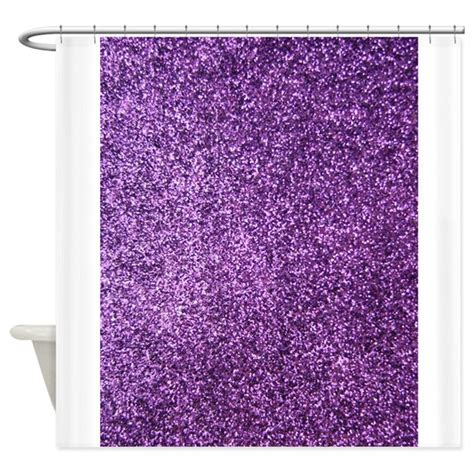 white sparkle shower curtain purple faux glitter shower curtain by inspirationzstore