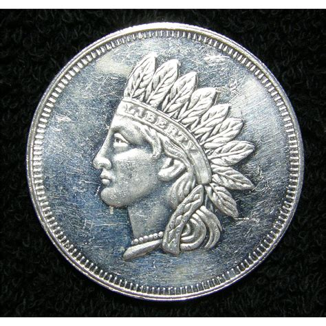 1 Troy Ounce Silver - indian 1 troy oz silver