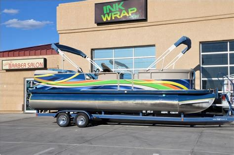 pontoon wrap designs pontoon boat pontoon boat pinterest boats pontoons