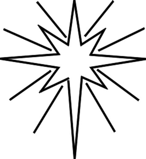 christmas star clip art pictrures and drawing art images