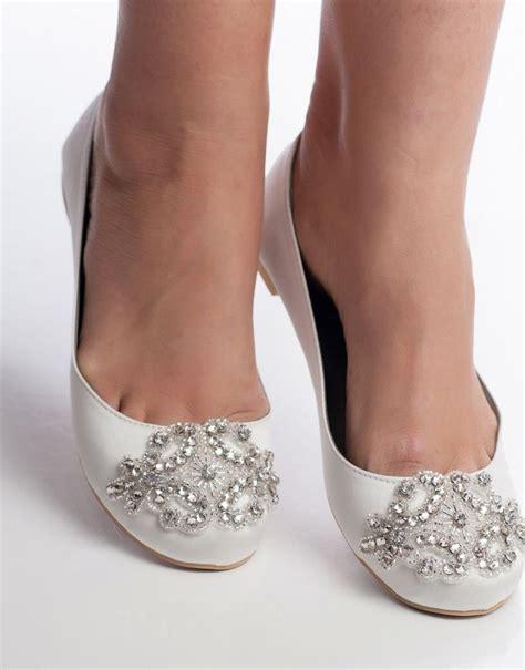 Flat Embellished Wedding Shoes by Embellished Wedding Flats Oriane 150092 Wedding