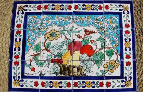piastrelle tunisine mattonelle tunisine boiserie in ceramica per bagno