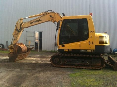 used hyundai r80 7 mini excavators 7t 12t year 2006