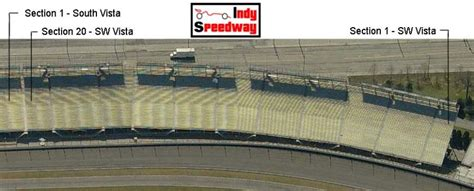 indy 500 seating chart stand a paddock seating chart indy speedway