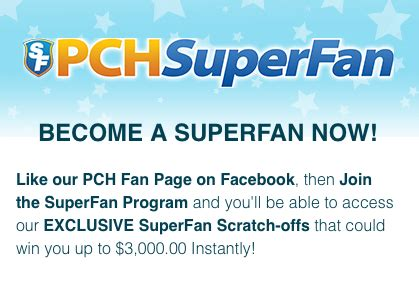 Pch Superfan - top 5 reasons to become a pchsuperfan pch blog