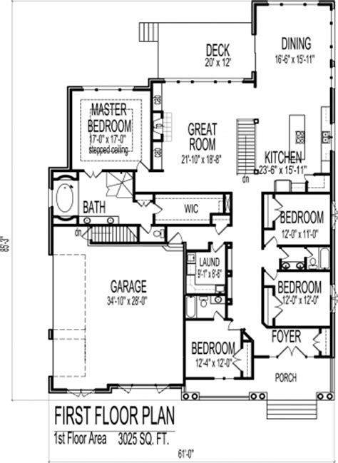 4 Bedroom Cottage House Plans by Stylish Cottage House Floor Plans European 4
