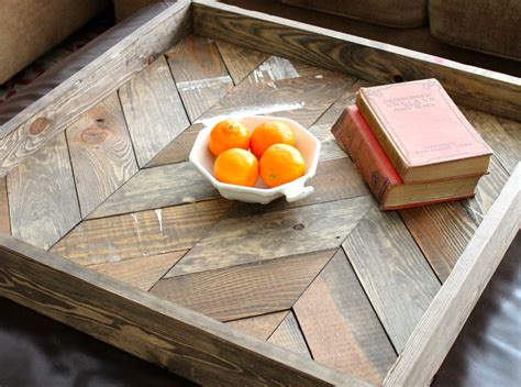 wood tray diy woodwork diy wood tray pdf plans