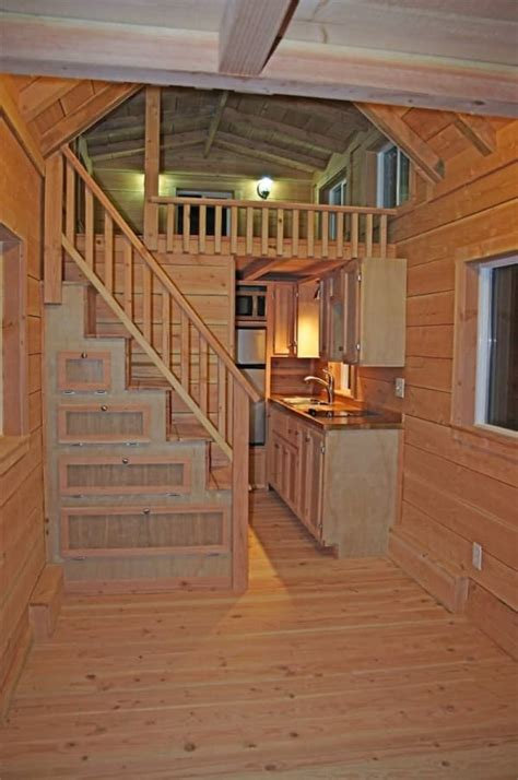 tiny house stair     salter spiral stair