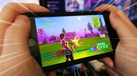 fortnite iphone  gameplay youtube
