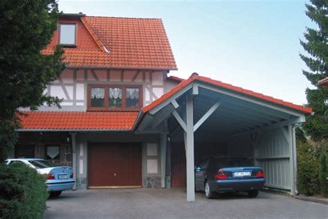 Carport Satteldach by Carports Hartmann Holzbau Hessen