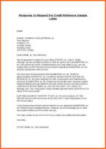 Reference Letter Of Credit Credit Reference Letter Soap Format