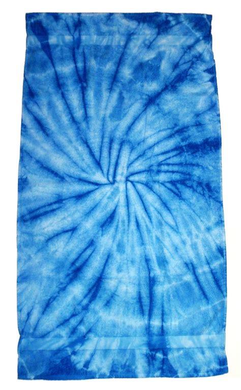 light blue tie light blue tie dye towel 4 10 x 2 6 tie dye space