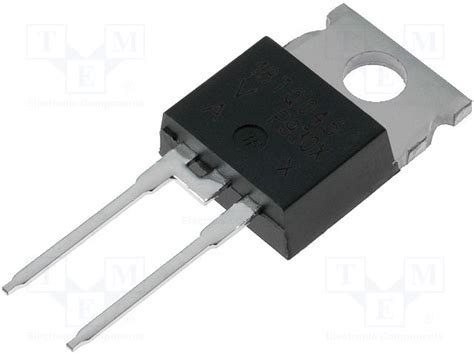 vishay diodes 18tq045pbf vishay diode schottky rectifying tme electronic components