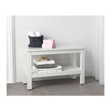 white bathroom bench hemnes bench white 83 cm ikea