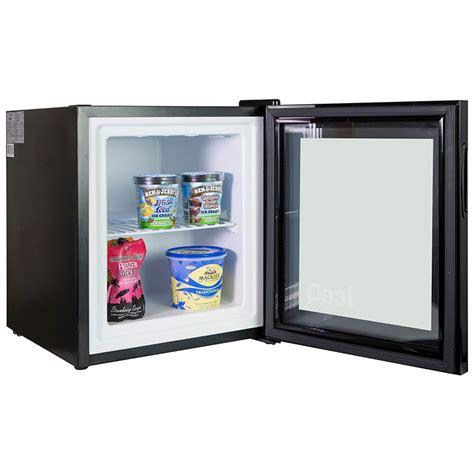 Freezer Mini iceq 36 litre counter top glass door display mini freezer