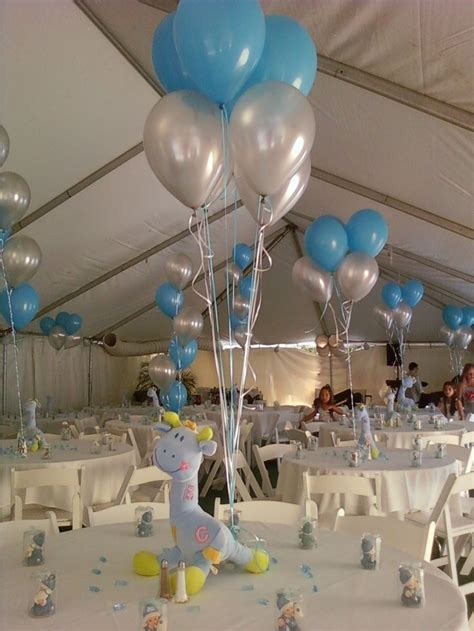 Balloon Arch Decorations For Baby Shower by Giraffe And Balloons Centerpiece For Baby Showerhttp Www