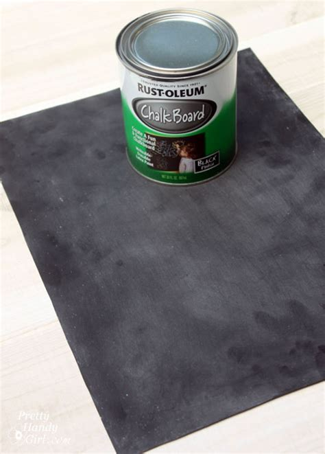 chalkboard paint metal upcycled magnetic chalkboard frame