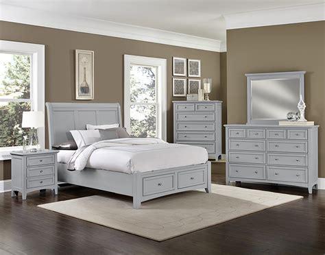 johnny janosik bedroom furniture vaughan bassett bonanza full sleigh storage bed with 2
