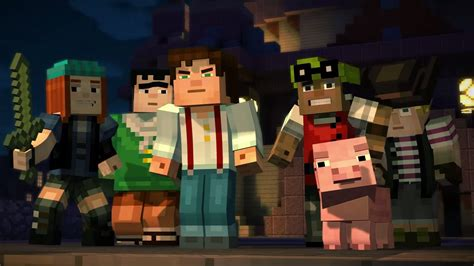 minecraft story mode review minecraft story mode episode 1 building character