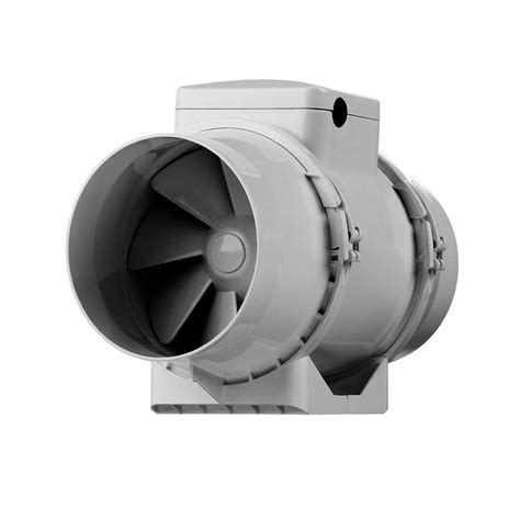 Bathroom Exhaust Fans Inline Vents Turbo 4 Inch Inline Ceiling Bathroom Fan